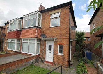 Thumbnail 2 bed flat for sale in Bavington Drive, Fenham