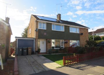 Thumbnail 3 bedroom semi-detached house for sale in Boxted Close, Luton