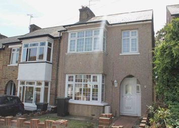 Thumbnail 3 bed end terrace house to rent in Hillside Avenue, Gravesend, Kent