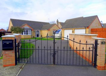 Thumbnail 3 bed detached bungalow for sale in Kiln Drive, Tydd St Mary, Wisbech, Cambridgeshire