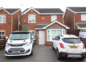 Thumbnail 3 bed detached house for sale in Heatherwood Court, Bransholme, Hull