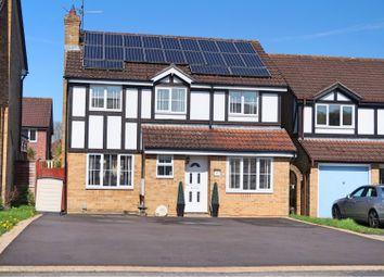 Thumbnail 5 bed detached house for sale in Saddleback Road, Swindon