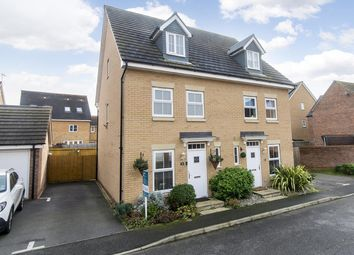 Thumbnail 3 bedroom semi-detached house for sale in Nairn Drive, Orton Northgate, Peterborough