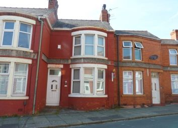 Thumbnail 2 bed terraced house to rent in Mollington Road, Wallasey