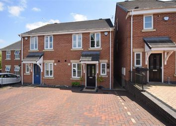 Thumbnail 2 bed town house for sale in Lapwings Close, Kilburn, Belper