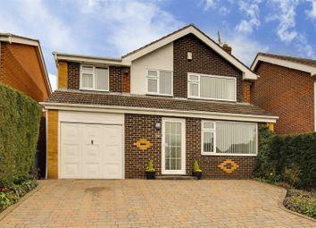 Thumbnail 4 bed detached house for sale in Winterton Close, Arnold, Nottinghamshire