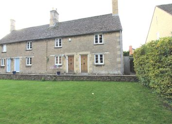 Thumbnail 2 bed end terrace house for sale in Old North Road, Wansford, Peterborough