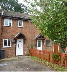 Thumbnail 2 bed terraced house to rent in Birch Close, North Walsham