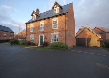 Thumbnail 5 bed detached house for sale in Spring Avenue, Ashby-De-La-Zouch