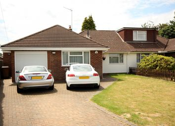 Thumbnail 3 bed semi-detached house for sale in Barnmead, Chobham, Woking