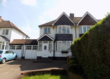 Thumbnail 3 bed semi-detached house for sale in Foley Road West, Sutton Coldfield, West Midlands
