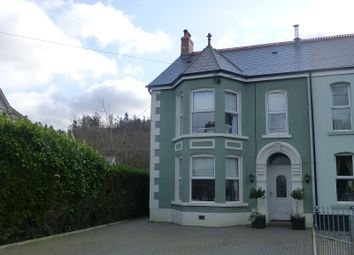 Thumbnail 4 bed semi-detached house for sale in Brynlloi Road, Glanamman, Ammanford, Carmarthenshire.