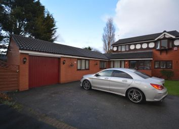 Thumbnail 4 bed detached house for sale in Wharton Close, Saughall Massie, Wirral