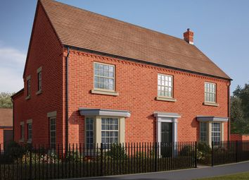 "Thumbnail 5 bed detached house for sale in ""The Brackley"" at Central Avenue, Brampton, Huntingdon, Brampton"