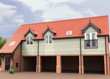 Thumbnail 2 bed flat for sale in The Ridings, Off Devlin Drive, Poringland, Norwich