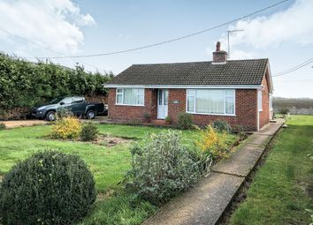 Thumbnail 2 bedroom detached bungalow for sale in The Drove, Barroway Drove, Downham Market