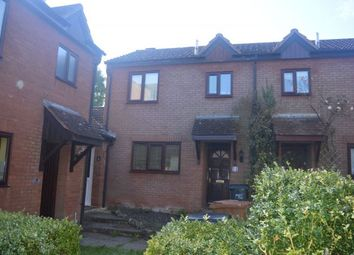 Thumbnail 2 bed terraced house to rent in Mallard Close, West Hunsbury, Northampton