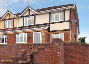 Thumbnail 3 bed semi-detached house for sale in North Rising, Pontlottyn, Bargoed