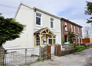 Thumbnail 3 bed semi-detached house for sale in The Common, Bridgend