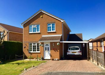 Thumbnail 4 bed detached house for sale in Wakefield Close, Grantham