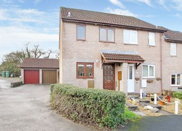 Thumbnail 2 bed end terrace house for sale in Finch Close, Shepton Mallet