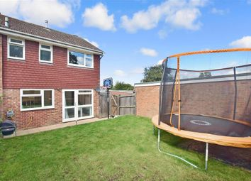 Thumbnail 3 bed end terrace house for sale in Renton Close, Billingshurst, West Sussex