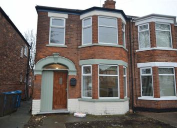 Thumbnail 3 bedroom end terrace house to rent in Hall Road, Hull, East Yorkshire