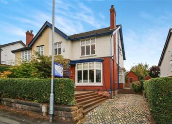 Thumbnail 5 bed semi-detached house for sale in Red Lane, Appleton, Warrington