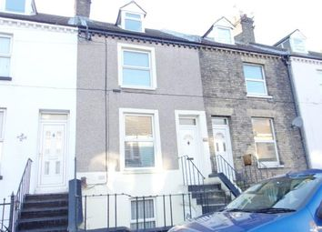 Thumbnail 3 bed terraced house for sale in De Burgh Street, Dover, Kent