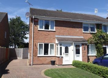 Thumbnail 2 bed semi-detached house for sale in Bickley Close, Hough, Crewe, Cheshire