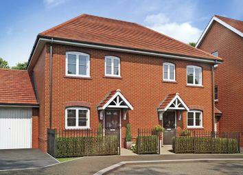Thumbnail 3 bed end terrace house for sale in The Lewes, Corunna, Inkerman Lane, Aldershot, Hampshire