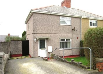 Thumbnail 2 bed semi-detached house to rent in Goronwy Road, Cockett, Swansea, City & County Of Swansea.