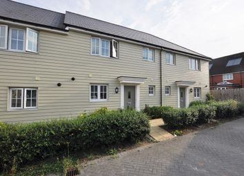 Thumbnail 3 bed terraced house for sale in Saffron Way, Little Canfield, Dunmow