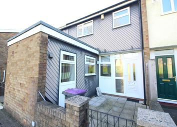 Thumbnail 3 bed terraced house to rent in Coleford Path, Cwmbran, Torfaen