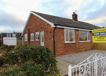 Thumbnail 2 bed bungalow for sale in Templegate Avenue, Leeds