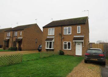 Thumbnail 2 bed semi-detached house for sale in Red Barn, Turves, Peterborough