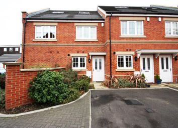 Thumbnail 3 bed terraced house to rent in Derisley Close, Byfleet