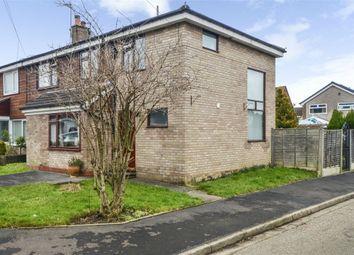 Thumbnail 3 bed semi-detached house for sale in Glastonbury Avenue, Cheadle Hulme, Cheadle, Cheshire