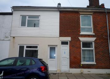 Thumbnail 3 bed terraced house to rent in Winchester Road, Buckland, Portsmouth