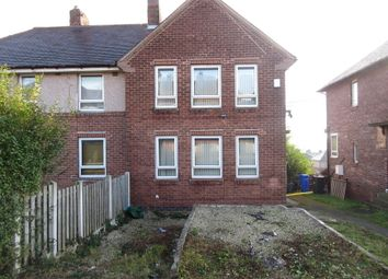 Thumbnail 3 bed semi-detached house to rent in Wolfe Road, Foxhill, Sheffield