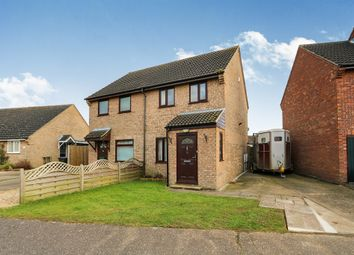Thumbnail 2 bed semi-detached house for sale in High View Drive, Attleborough