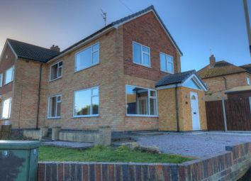 Thumbnail 3 bed semi-detached house for sale in Kingsgate Avenue, Birstall, Leicester