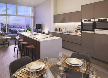 Thumbnail 2 bed flat for sale in Building 103, The Village Square, West Parkside, Greenwich, London