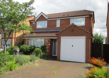 Thumbnail 4 bed detached house to rent in Garston Road, Great Oakley, Corby