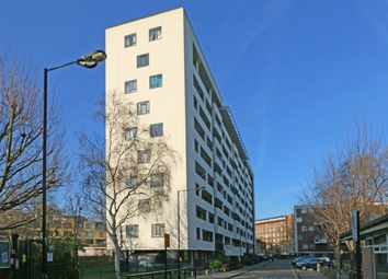 Thumbnail 3 bed flat for sale in Hallfield Estate, London