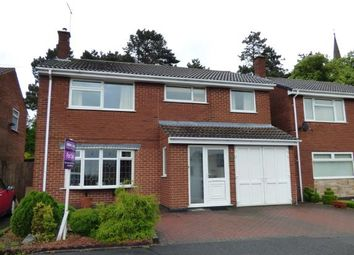 Thumbnail 5 bed detached house for sale in Redmoor Close, Burton On Trent, Staffordshire