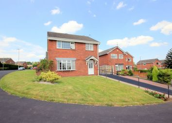 Thumbnail 4 bed detached house for sale in Woburn Close, Stoke-On-Trent