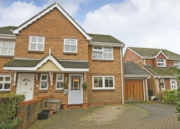 Thumbnail 3 bedroom semi-detached house for sale in Lin Brook Drive, Ringwood, Hampshire