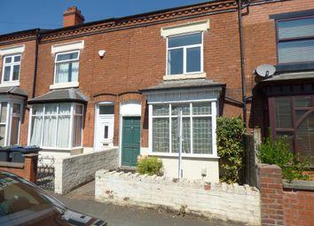 Thumbnail 3 bed end terrace house for sale in Regent Road, Birmingham