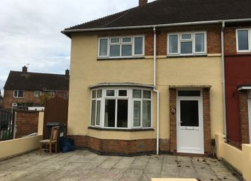 Thumbnail 3 bed semi-detached house to rent in New Parks Boulevard, Leicester